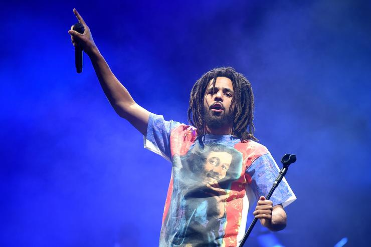 J. Cole Channels Black Icons Ahead Of Middle Child Release
