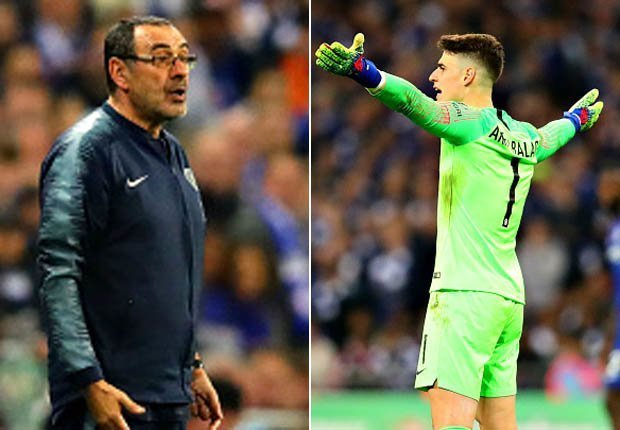 Chelsea Told To Sack Goalkeeper Kepa After Snubbing His Manager