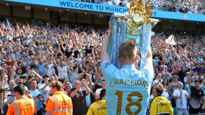 Kevin de Bruyne Is Saying About Man City Winning 4 Trophies This Season