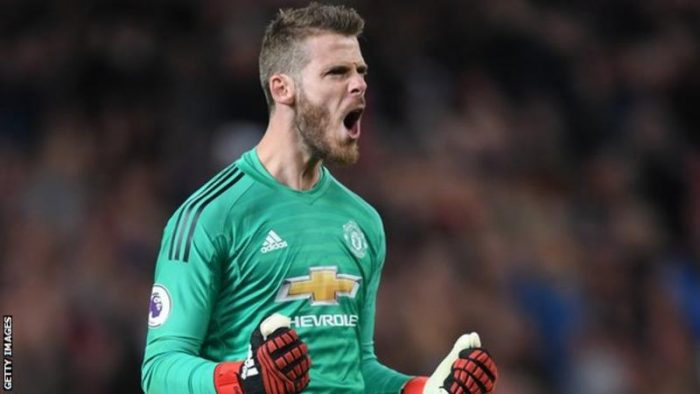 Man United Continue Contract Talks With Star Goalkeeper De Gea