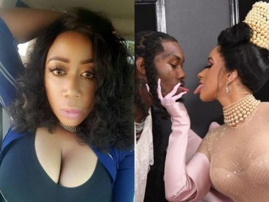 Moyo Lawal Reacts To Cardi B And Offset's Reconciliation