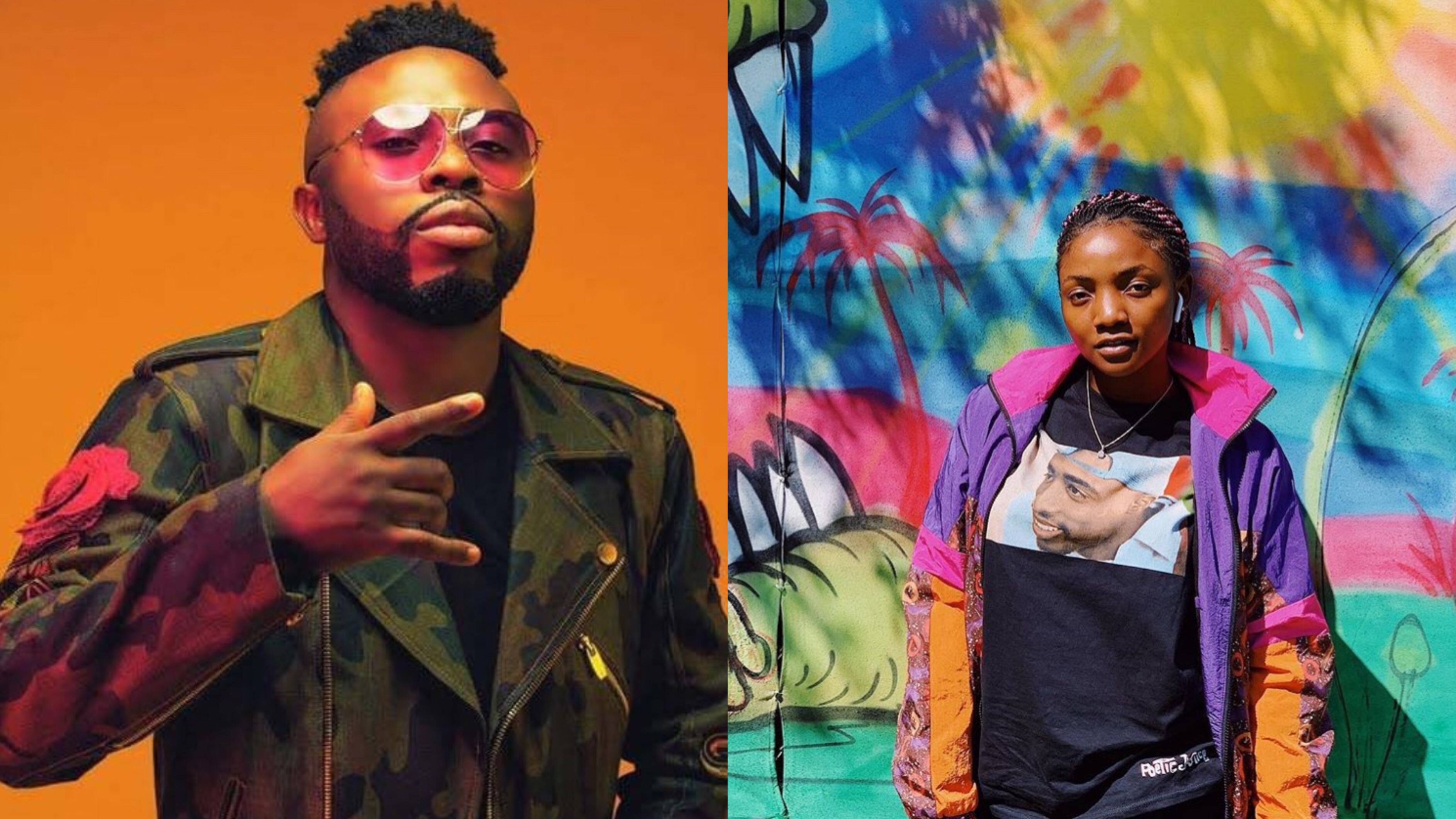 Samklef Reacts To Simi's Call-out of Yahoo Boys