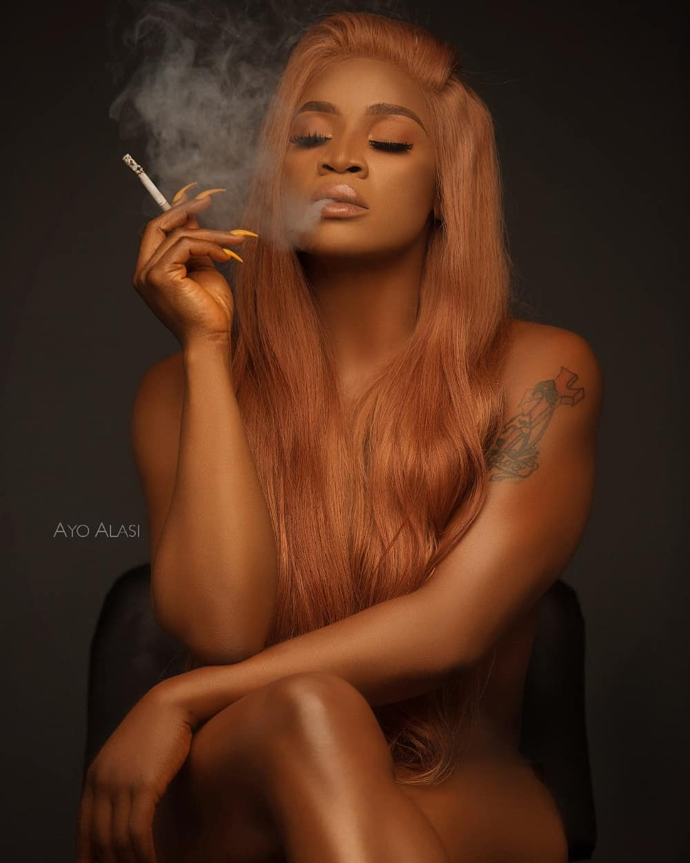 Uche Ogbodo Shares Nude Birthday Photos And These May Just Shake The Internet