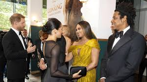 The Carters & The Royals Connect At The Lion King London Premiere